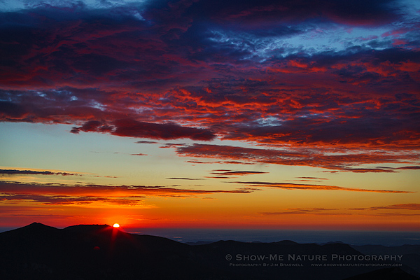 Sunrise at Mount Evans