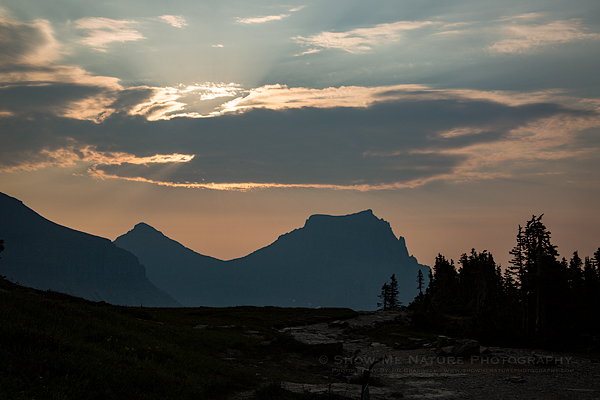 Logan Pass in the early morning