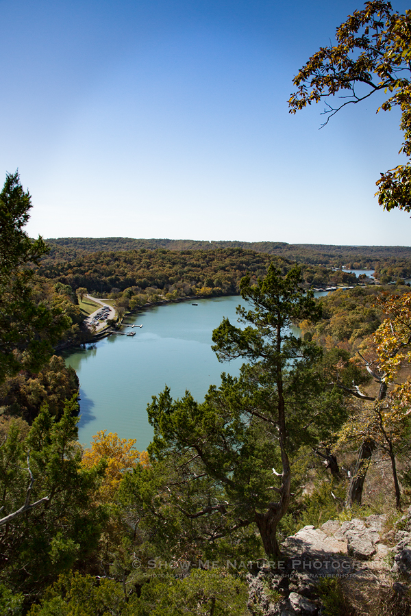 Lake of the Ozarks overview, from Ha Ha Tonka State Park castle ruins