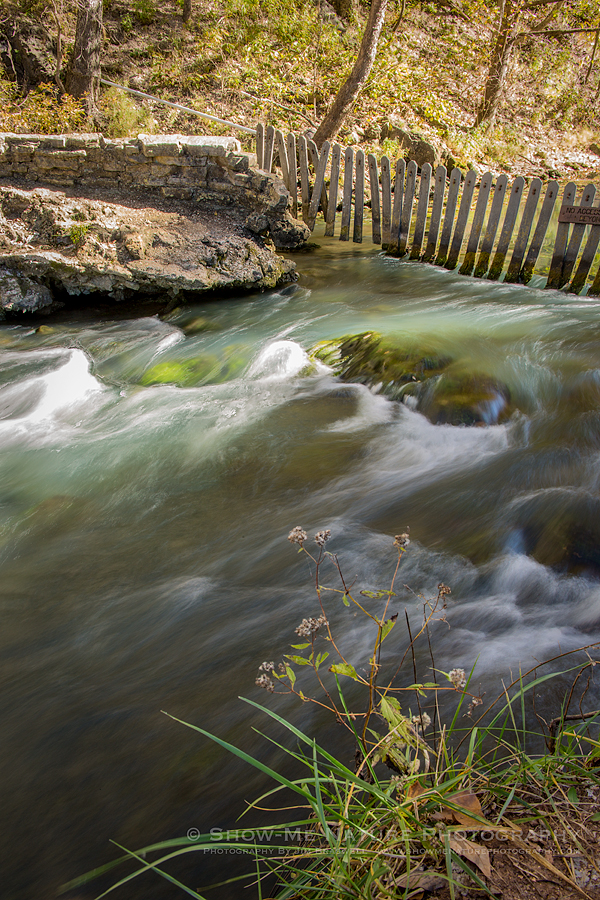 Spring flowing into the Niangua Arm of the Lake of the Ozarks