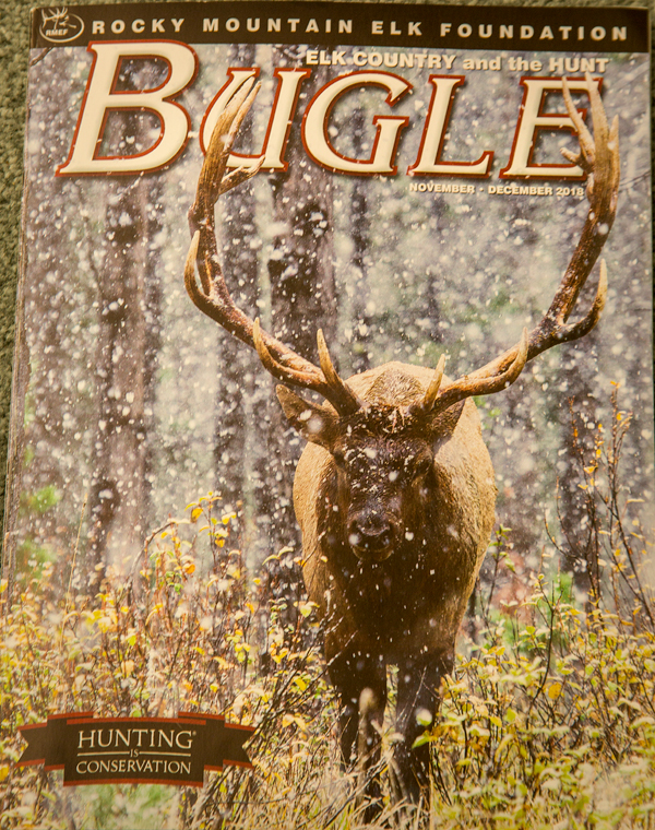 Cover of Bugle magazine