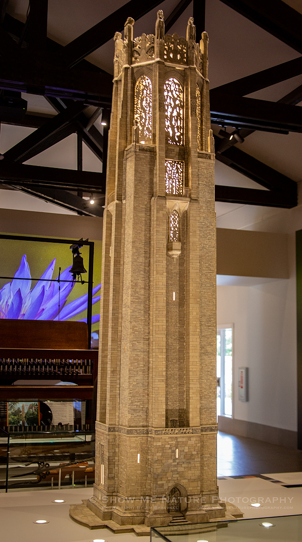Scale model of Bok Tower