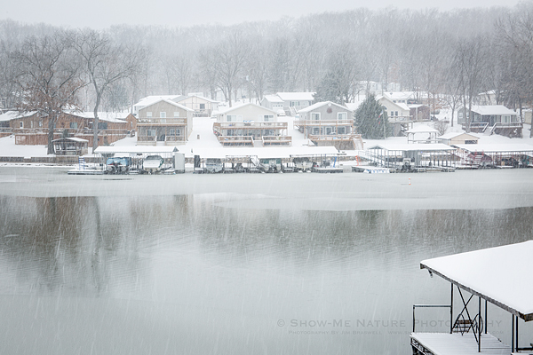 Snow at the Lake