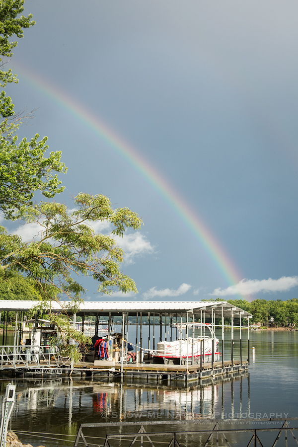 Rainbow over the Lake of the Ozarks