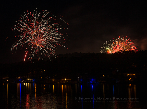 Fireworks Over the Lake of the Ozarks