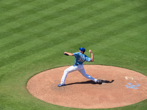 Chris Young pitching