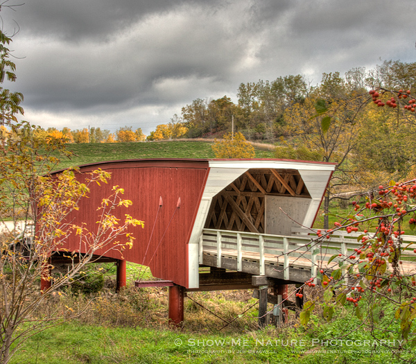 Cedar covered bridge