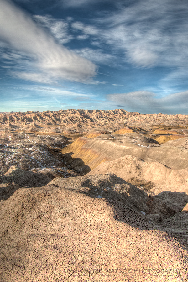 Badlands NP landscape