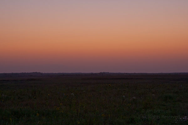 Sunrise over the Prairie